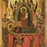 ZOSNUTIE (УСПЕНИE) NAŠEJ PRESVÄTEJ VLÁDKYNE, BOHORODIČKY MÁRIE, VŽDY PANNY