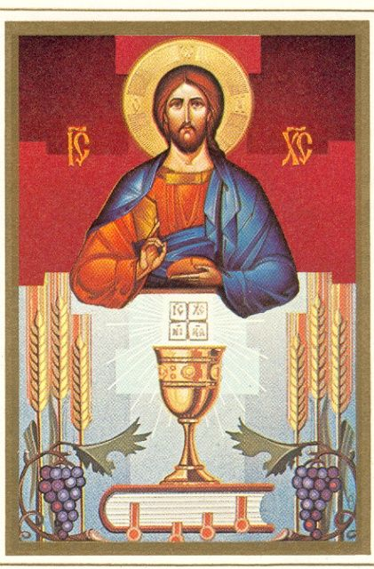 icon eucharist
