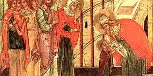 21. november – VSTUP (VOVEDENIE) PRESVÄTEJ BOHORODIČKY DO CHRÁMU