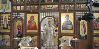 Foto: Liturgia v priamom TV prenose