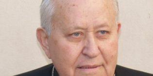Biskup Ján Eugen Kočiš sa v sobotu dožíva životného jubilea: 90-tky