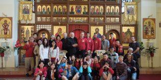Foto: Mladí z Taiwanu navštívili eparchiu