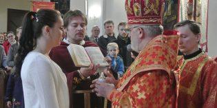 Archijerejská liturgia na Veľkú sobotu