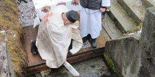 Foto: Svätenie vody na Šumiaci